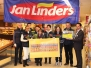 17-1-2015 Prijsuitreiking cheque Jan Linders